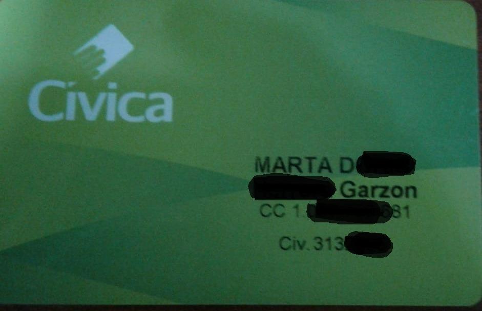 Civica Marta Doris Herrera G