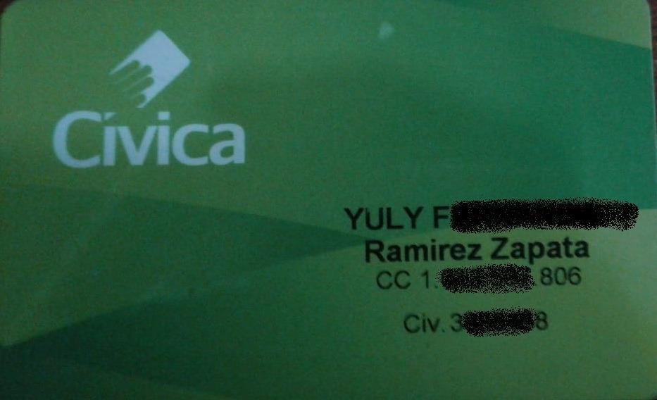 Civica Yuli Fernanda Ramirez Z