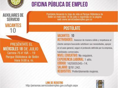 Convocatoria Pública De Empleo