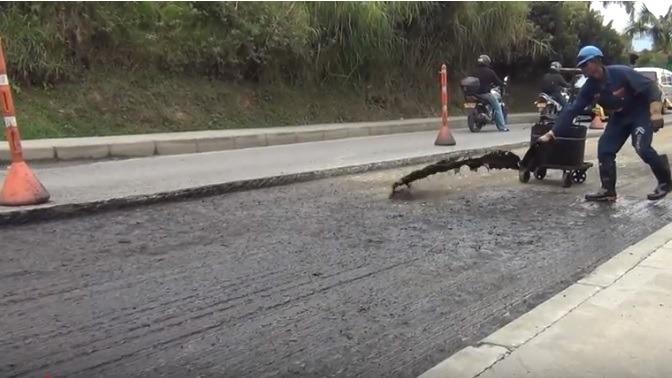 Secretaría De Infraestructura Física Ejecuta Plan Vial Rural 2018 En San Antonio De Prado.