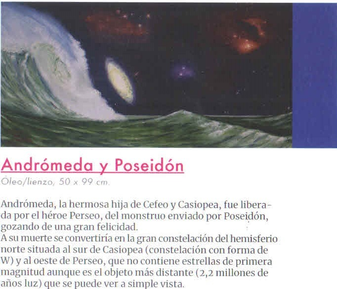 Andromeda Y Poseidon  Exposicion Anibal Madrigal