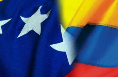 Banderas Colombia Venezuela
