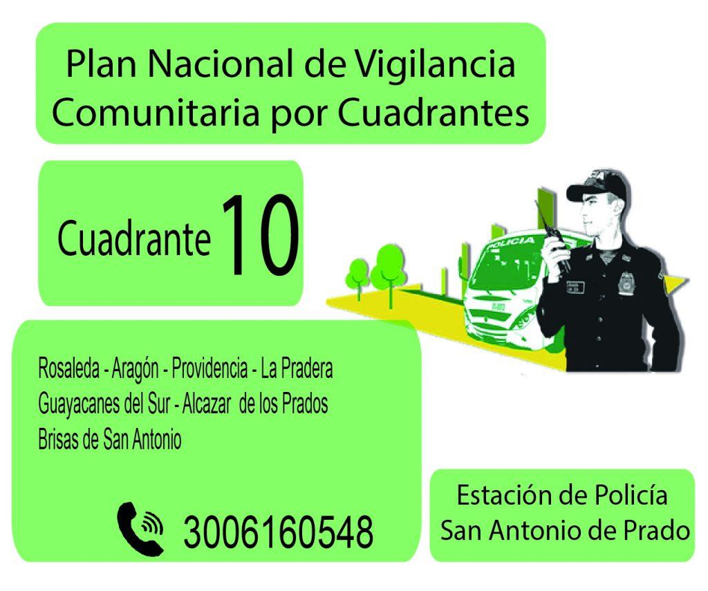 Cuadrante # 10 Estacion Policia De San Antonio De Prado