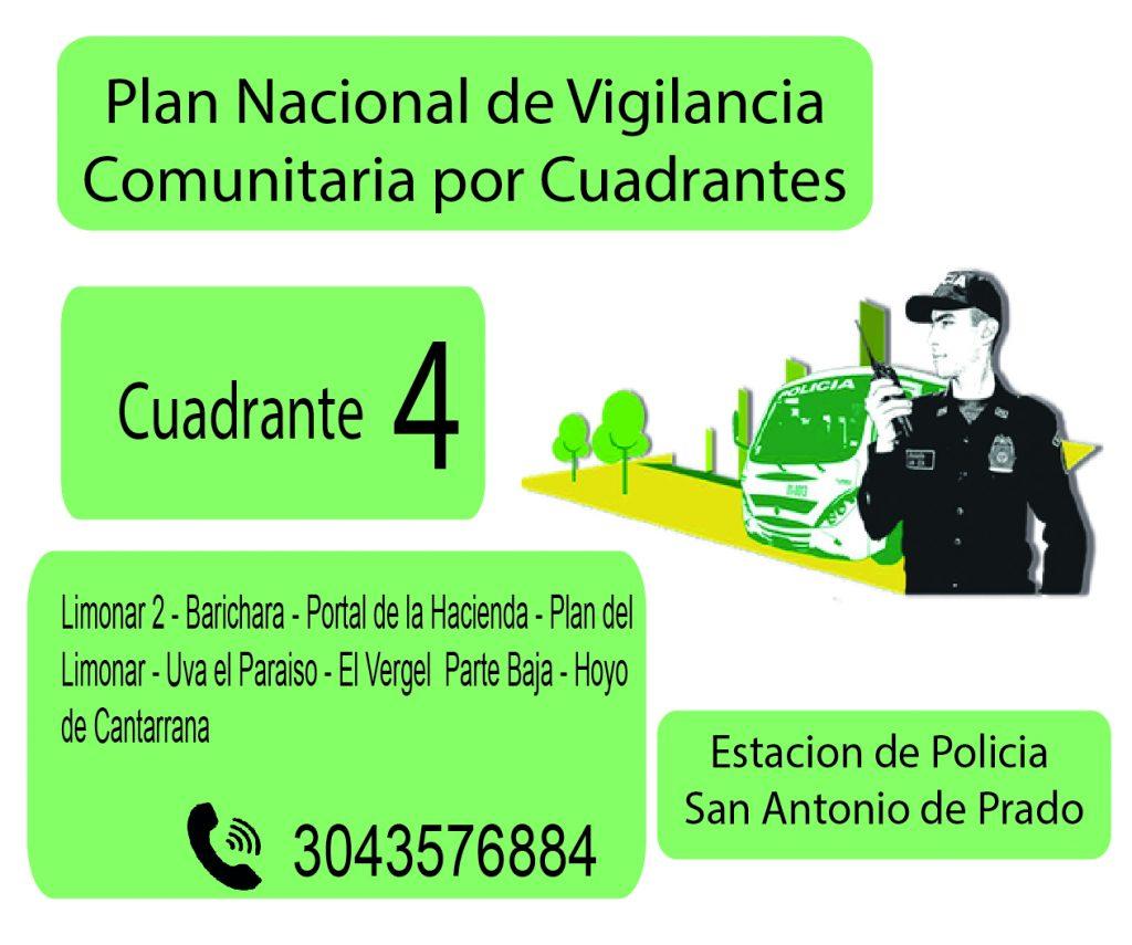 Cuadrante # 4 Estacion Policia De San Antonio De Prado