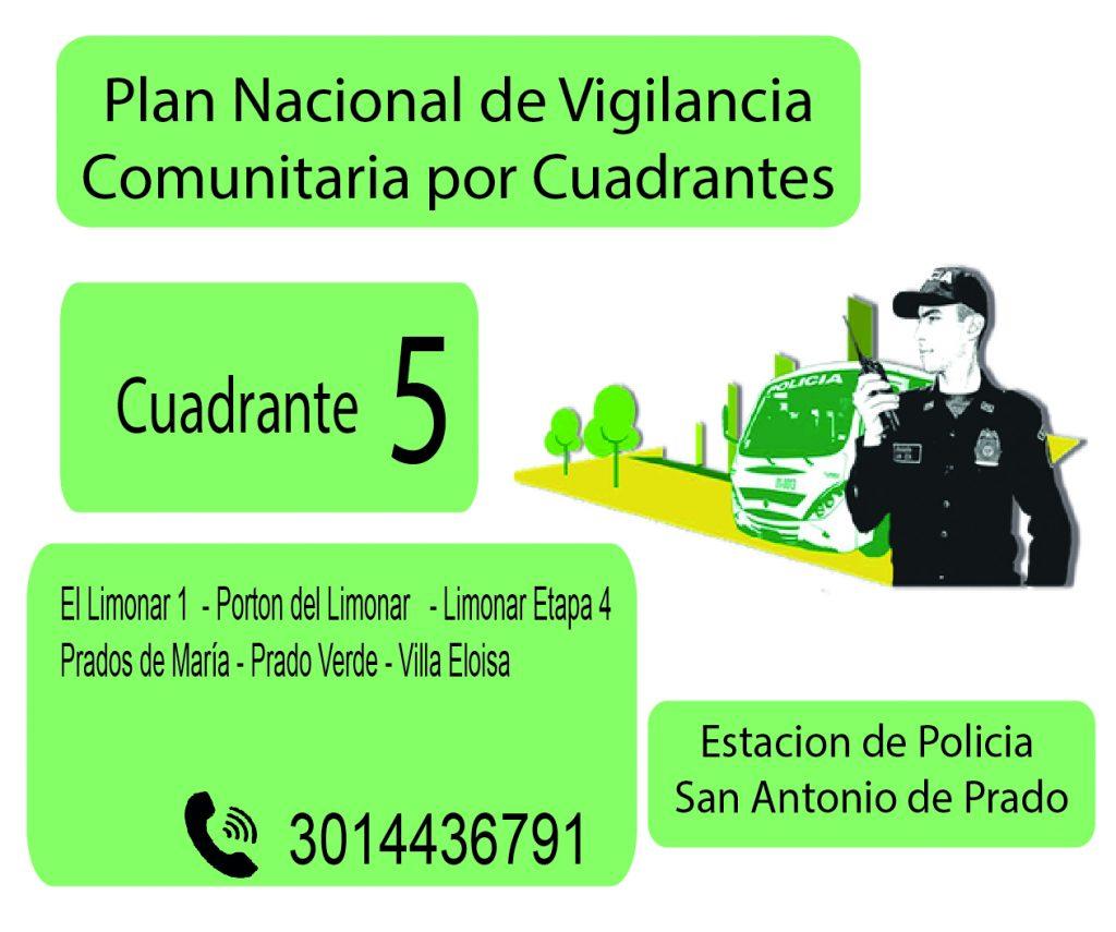 Cuadrante # 5 Estacion Policia De San Antonio De Prado