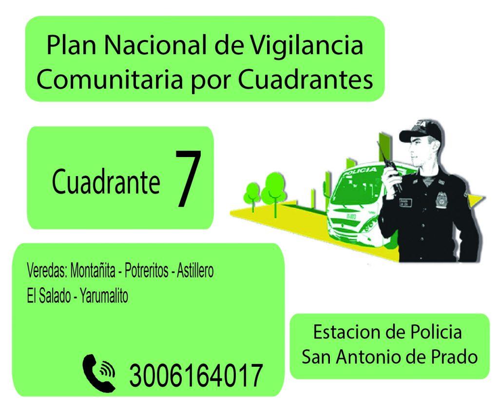 Cuadrante # 7 Estacion Policia De San Antonio De Prado