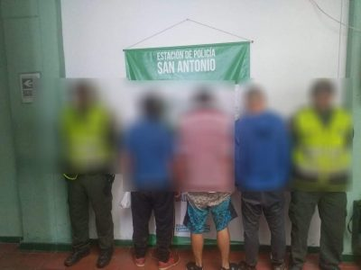 La Estación De Policía De San Antonio De Prado Reporta 3 Capturas Por Robo De Cable A La Empresa UNE