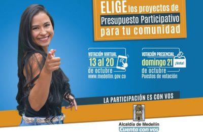 Votaciones De Presupuesto Participativo Medellín San Antonio De Prado