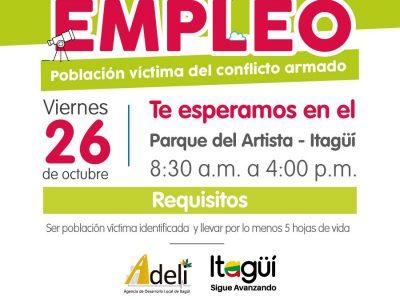 Más De 500 Vacantes De Trabajo Y Empleo Para Víctimas De Itagüí, Caldas, Sabaneta, Envigado Y La Estrella