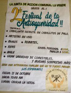 Segunda Feria de la Antioqueñidad @ Junta de Acción Comunal La Verde.