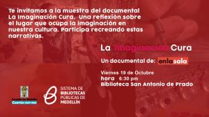 Muestra del documental la imaginación Cura. @ Biblioteca San Antonio de Prado