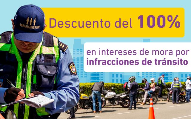 Hasta El 31 De Marzo De 2019 Amnistía En El 100 % De Los Intereses A Infractores De Transito En Envigado