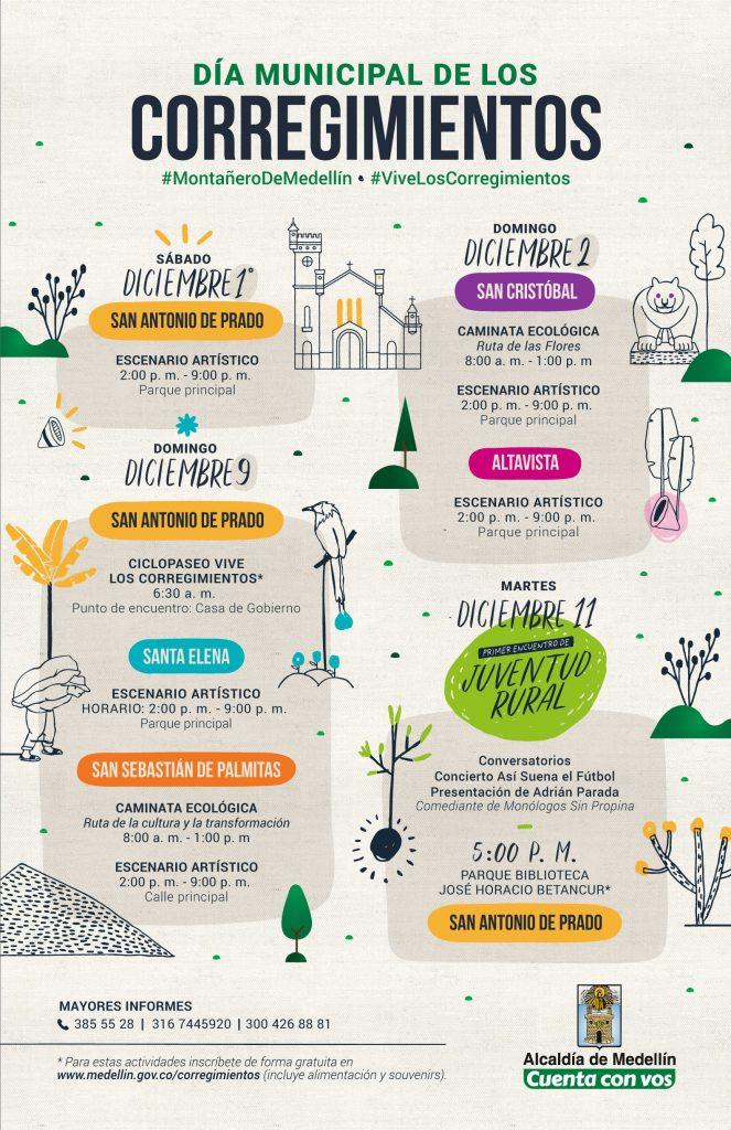 Día De Los Corregimientos, Medellin Celebra Su Ruralidad