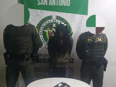 Policía Nacional Intensifica Controles En San Antonio De Prado