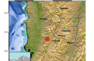 Sismo En Colombia Epicentro Versalles Valle Del Cauca