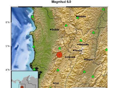 Se Siente Fuerte Temblor En Medellín