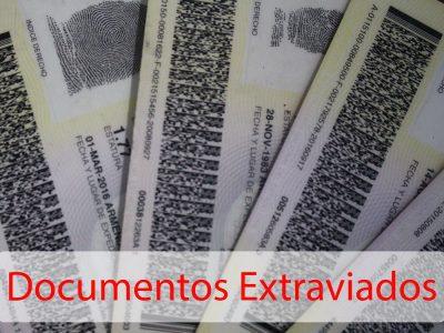 Consulta Lista De Documentos Perdidos