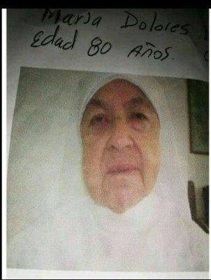 Desaparecida Religiosa María Dolores Del Hogar San José De La Estrella.
