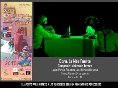 Hasta El Primero De Septiembre Disfruta Del Séptimo Festival De Teatro.