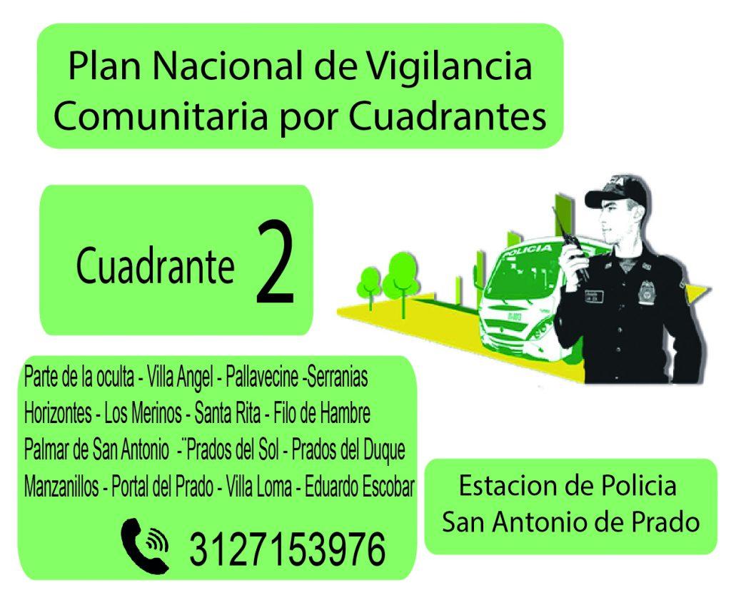 Cuadrante # 2 Estacion Policia De San Antonio De Prado