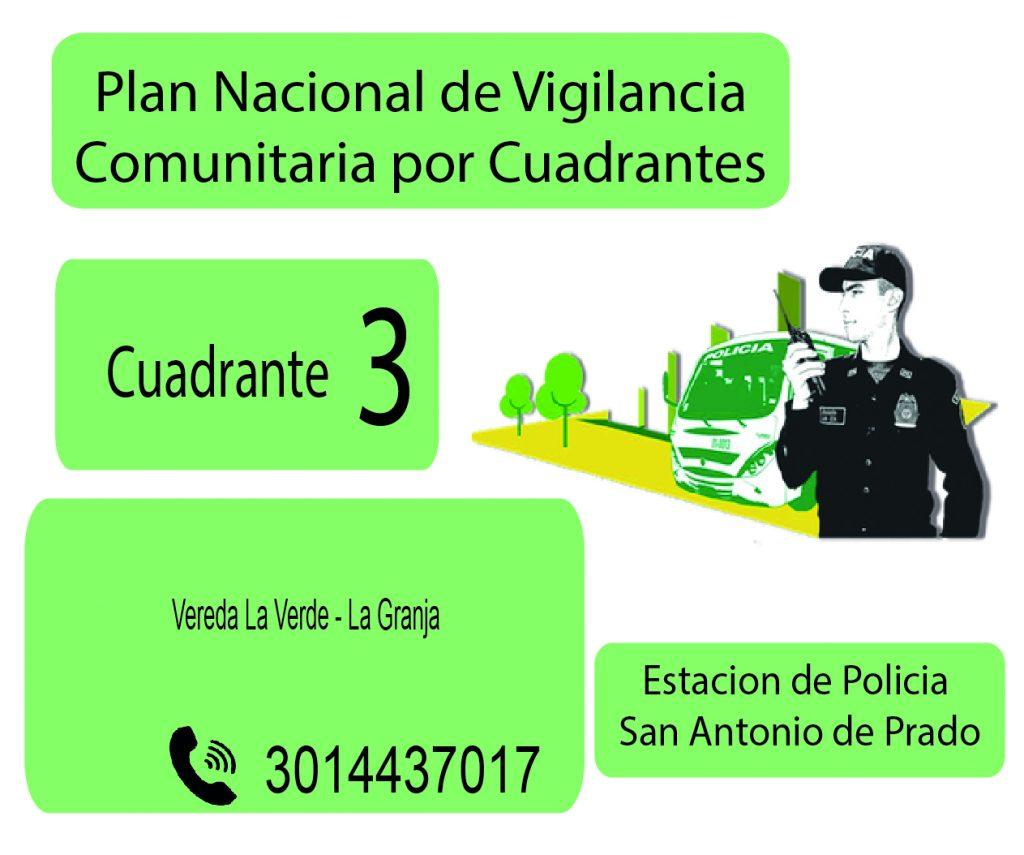 Cuadrante # 3 Estacion Policia De San Antonio De Prado