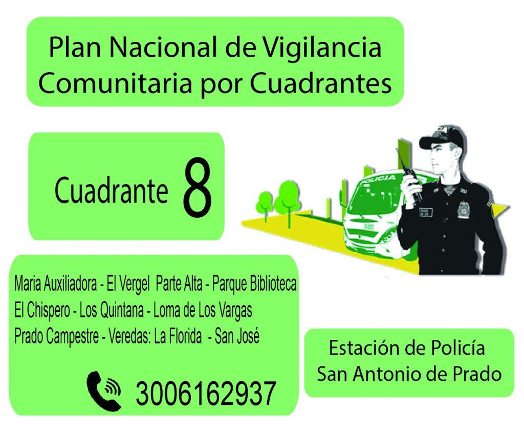 Cuadrante # 8 Estacion Policia De San Antonio De Prado