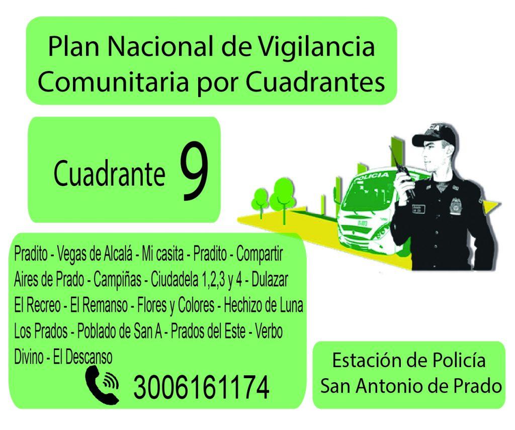 Cuadrante # 9 Estacion Policia De San Antonio De Prado