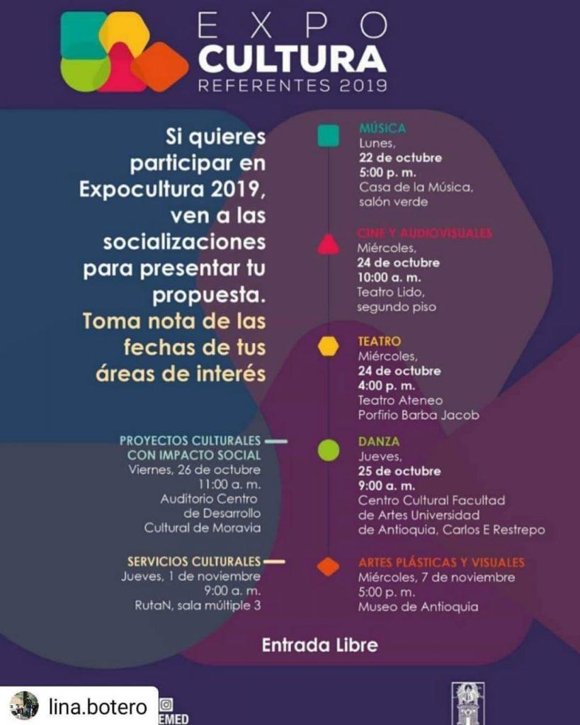 Invitación A Participar En Expocultura