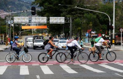 Bicicleta Modelo De Movilidad En El Valle De Aburra