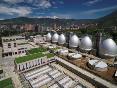 Es Inaugurada La Planta De Aguas Residuales Mas Grande Del Colombia