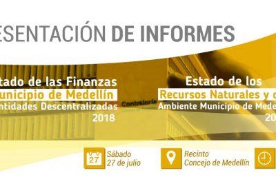 Presentación Informes Contraloría General De Medellín