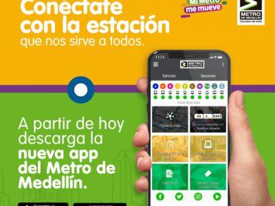 Ahora Es Mas Fácil Viajar Con La Nueva Aplicación Del Metro De Medellín