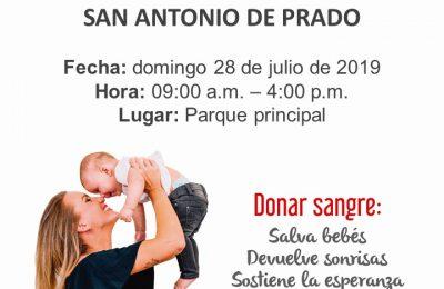 Jornada De Donacion De Sangre En Sa Antonio De Prado
