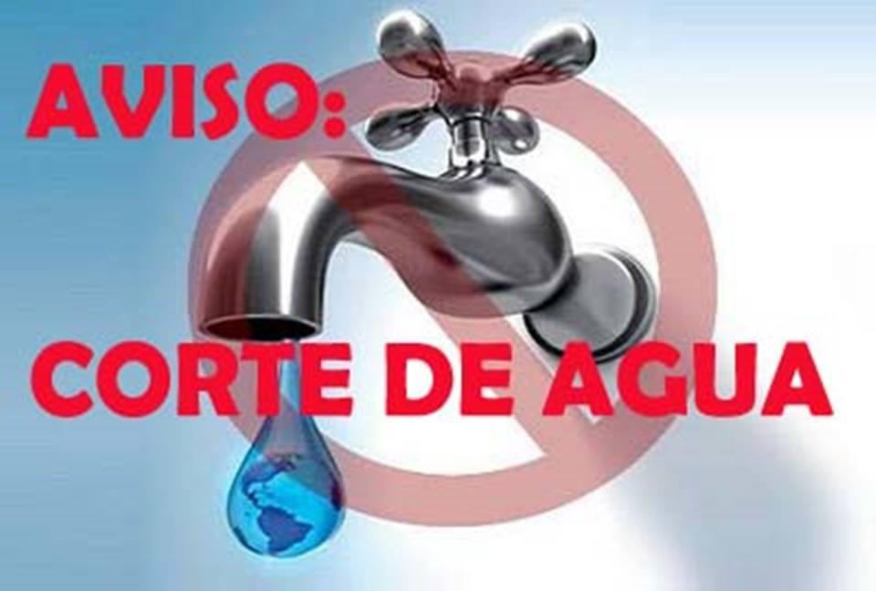 suspension de agua en sectores de San Antonio de Prado