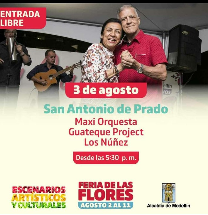 Feria de Flores en el corregimiento de san Antonio de Pradotas 2019