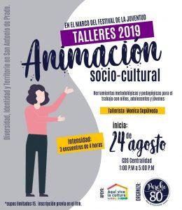 Talleres de animación sociocultural @ CDS parque de San Antonio de Prado