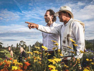 Vestido De Silletero, Alcalde De Medellín Agradece Por El Buen Comportamiento En La Feria De Las Flores 2019