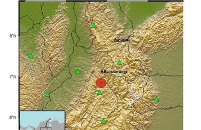 Temblor De 5.2 De Magnitud, Con Epicentro En Los Santos Santander, Se Sintió En Medellín.