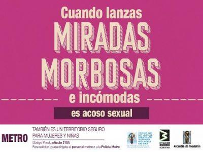 Metro Desarrolla Campaña Territorios Seguros Para Las Mujeres Y Las Niñas De Medellín