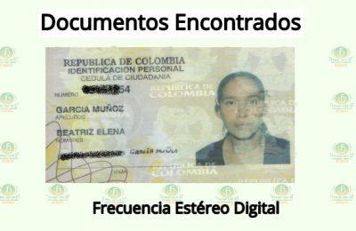 Beatriz Elena García Muñoz Documento Encontrado