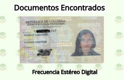 Karen Andrea Muñoz Cadavid Documento Encontrado