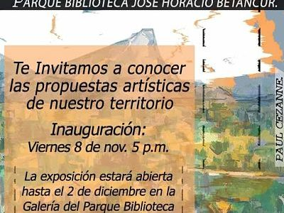 No Te Pierdas La Muestra De Artes Plásticas De San Antonio De Prado.