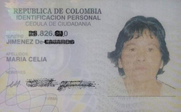 Cédula Maria Celia Jimenez de Fajardo_opt