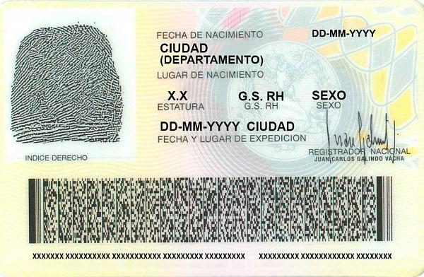 Registraduría Nacional De Colombia, Implementará Cédula De Ciudadanía Digital