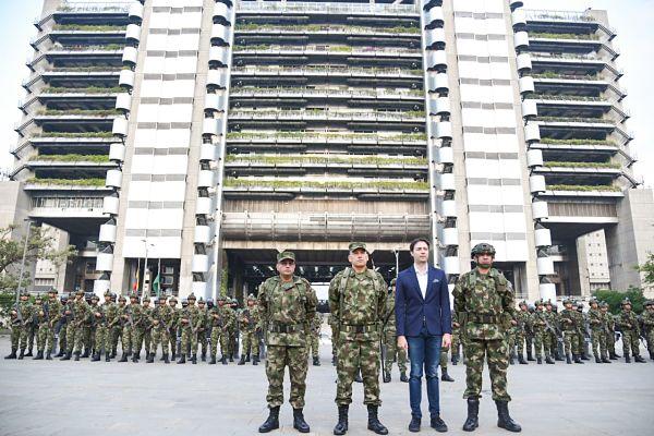 Ejército brindará seguridad en las comunas y Corregimientos de Medellín