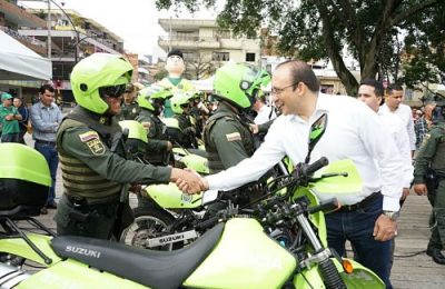 Itagüí Tiene Un Nuevo Grupo De Reacción Inmediata Contra El Hurto Y El Microtráfico Opt