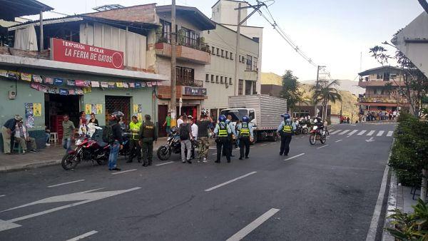 Secretaria de movilidad de Medellín, realiza controles en vías de San Antonio de Prado3