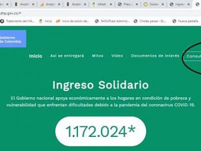 Pasos Para Cobrar El Ingreso Solidario (DNP) Del Gobierno Nacional