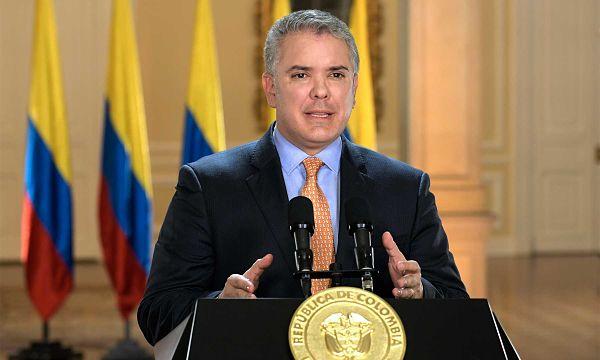 'Hemos tomado la decisión de decretar el Estado de Emergencia' para enfrentar el coronavirus, anunció este martes el Presidente Duque a través de alocución a los colombianos.