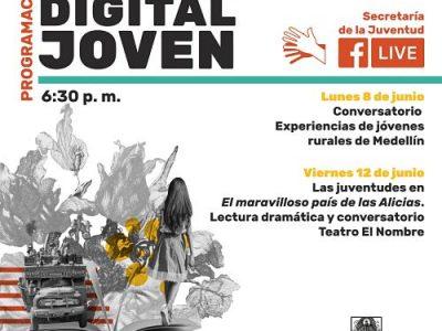 Jóvenes De Los Corregimientos De Medellín, Conversarán El Lunes 8 De Junio Sobre Sus Experiencias